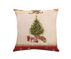 Caso Di Cuscino Di Natale,Zolimx Federa Cuscino,Buon Natale Federa Di Natale Federa Per Cuscino Da Divano A Vita Casa Arredamento