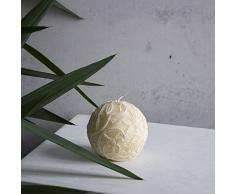 Paraffina candela candela sfera piccola 100 mm Ecru Pasqua – Candela