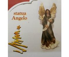 STATUA ANGELO ANGIOLETTO 9 CM MARIA PERSONAGGIO PER PRESEPE NATALE NATALIZIO