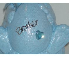 Brother, colore: Blu Baby coniglietto pasquale, decorazione commemorativa da Ziggy Crafts