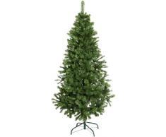 Best Season, Albero di Natale luminoso Nebraska, 180 x 100 cm con piedi dappoggio in metallo