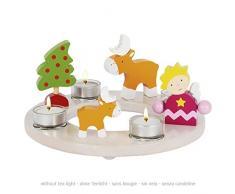 Goki candela corona Pasqua Natale 13Tlg senza candele