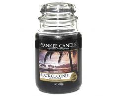 Yankee Candle Candela Grande Vaso, Noce di Cocco Nera