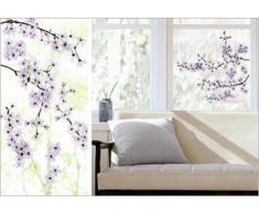 Set: Rami, Fiori Di Ciliegio Poster-Sticker For Windows (69x24 cm) E 1 Sticker Sorpresa 1art1®