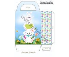 Coniglietto pasquale, confezione regalo da 4 Sharon Poore