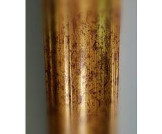 Artecentro cornice dorata per quadri - oro/colore con o senza passepartout in legno-varie misure (oro antico, 80 x 120)