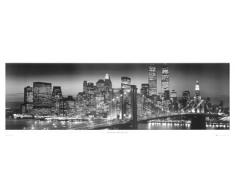 1art1, 37052, Poster, motivo: New York - Manhattan di notte, 158 x 53 cm