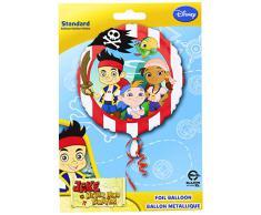 Palloncino in microfoil Jake e i pirati