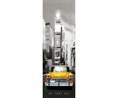 Empire 164148 New York, Taxi Giallo, Poster, 53 x 158 cm