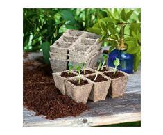 Vasi Biodegradabili Per Semi E Piante (144 vasi)