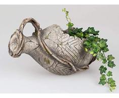 Formano - Vaso decorativo, 46 cm, colore anticato
