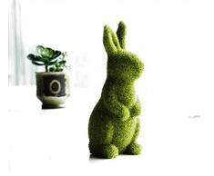 misslight Statuette del Coniglietto di Pasqua Coniglio della Decorazione di Pasqua (Style1)