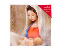 Biglietti di Natale con scena religiosa di Hallmark – Confezione da 10 in 1 design