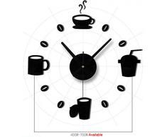 """Wall Sticker, DDLBiz® Adesivi Murales, Carta da Pareti """"orologio di parete digitale"""" Decorazione Murali da Parete"""