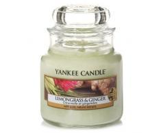 Yankee Candle Candela Piccolo Vaso, Citronella e Zenzero