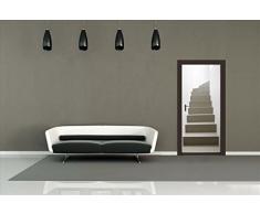 """Decorazione per PORTE """"GRADINI"""" - Maxi sticker da parete Giant Wallpaper"""