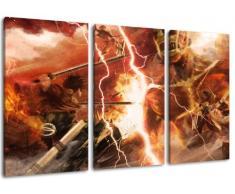 stampa artistica di elevata qualit/à The Last of Us foto Pi/ù economico di un dipinto ad olio ATTENZIONE NO poster! 3 pezzi tela Dimensione: 120x80 cm come un murale