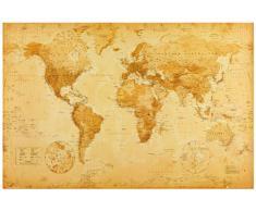 "1art1 42429 Poster ""cartina storica del mondo"" 91x61 cm"