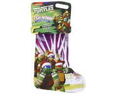Giochi Preziosi - Calzettone Turtles, LOriginale Calza della Befana con Sorprese