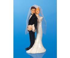 Matrimonio Günthart statuetta sposa coppia con sposa Struzzo torta decorazione