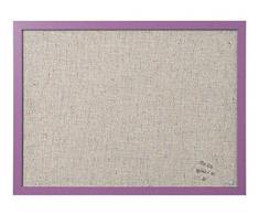 Bi-Office FB0470418 Bacheca Lavender, 60x45, Viola
