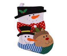 Natale Babbo Natale Calza amici Natale