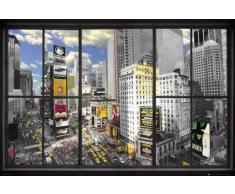 AMBROSIANA GB eye Ltd - Maxi poster, motivo finestra su New York, 61 x 91,5 cm, colori assortiti