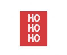 XIANGPEIFBH Quadro su Tela Stampa Natalizia Poster Natalizio Decorazioni Natalizie Babbo Natale Quadro su Tela Camera per Bambini -50x70cm Senza Cornice