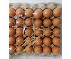 30 uova colorate Pasqua decoupage colori misti con contenitore
