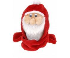 Cappello con sciarpa Babbo Natale adulto