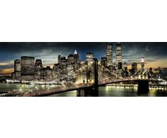 1art1 48068 Poster New York - Manhattan, Luna 158x53 cm