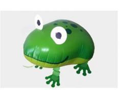 Palloncino a forma di rana che cammina (gas elio)