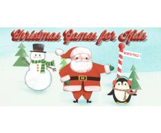 Giochi Natalizi per Bambini: Simpatici Puzzle per Bambini e Bambine, con Babbo Natale, Pupazzi di Neve e Renne, in HD