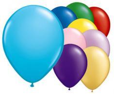 50 Palloncini in Lattice Colori Assortiti 30,5 cm