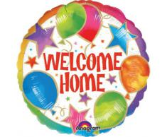 Amscan International - Decorazione per feste di bentornato, motivo: Welcome Home