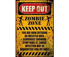 GB eye LTD, Zombie, Keep Out, Maxi Poster, 61 x 91,5 cm