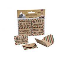 Confezione da 4 biglietti di Natale - DES913