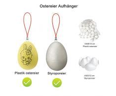 Pasqua Decorazione Accessori, Divertimento Esplora 150 set Ganci per le uova di Pasqua con colorate cavi 150 set Confezione