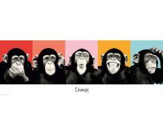 Empire, 490735, Poster, motivo: The Chimp, 158 x 53 cm, Multicolore (Mehrfarbig)