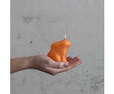 Orangener coniglietto 75 mm Candela Pasqua – Candela