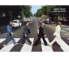 Grupo Erik LPO597 Poster Beatles Abbey Road, carta, Multicolore, 91 x 61,5 x 0,1 cm