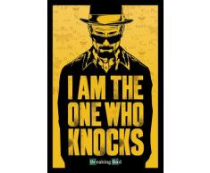 Empire Merchandising GmbH - Poster con accessori, tema: Breaking Bad I Am The One Who Knocks