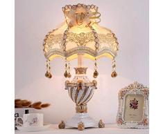 WSW Lampada da Tavolo Europea di Design alla Moda Sculture Artigianali per Il Design del Corpo Dimmerabile E27 Lampada da Tavolo Studio Camera da Letto Soggiorno semplicità alla Moda