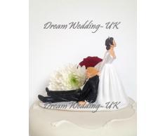 Statuetta di matrimonio sposi %2F seduti, in piedi, Decorazione per matrimoni