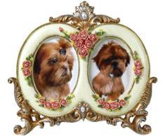Buckingham cornice rococò barocco foto quadro oro antico Shaby Chic