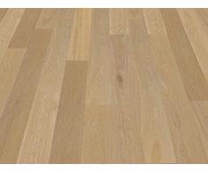 Pavimento in legno Rovere spazzolato oliato effetto legno grezzo, Plancia uni...