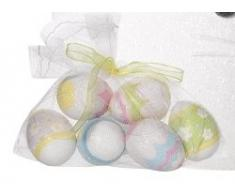 Pasqua decorazioni confezione di 6 uova decorate