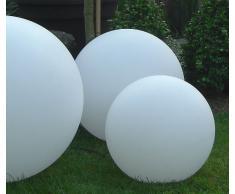 Xclou 173002 Lampada a forma di sfera, a LED, diametro 40 cm, con telecomando