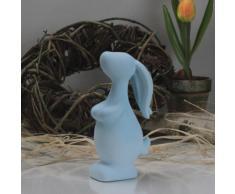 Oster coniglietto coniglio Pasqua Oster nido decorazione tavolo decorazione azzurro pastello 14,5 cm