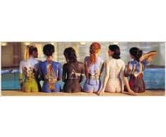 1art1 31890 Poster da Porta Pink Floyd, 53.34 x 157.48 cm [Importato da Francia]